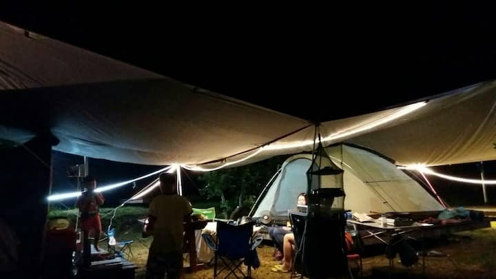 camping/b&b/garden