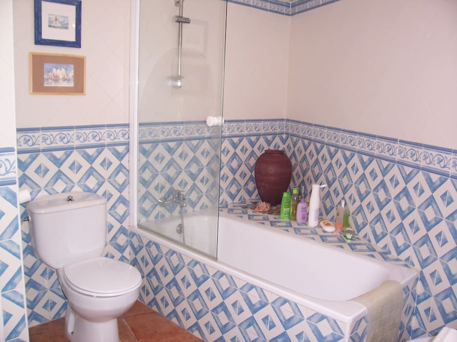 Cuarto de baño a compartir cuando la otra habitación esté tambien ocupada