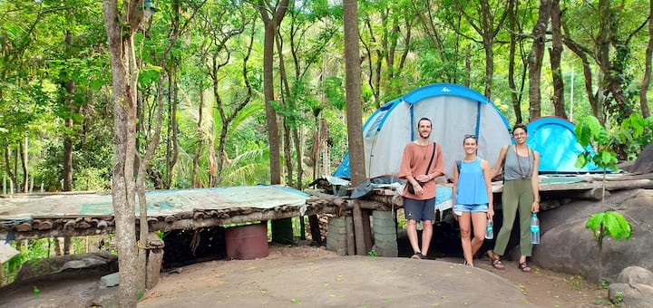 Adventure trekking and tent stay in Wayanad