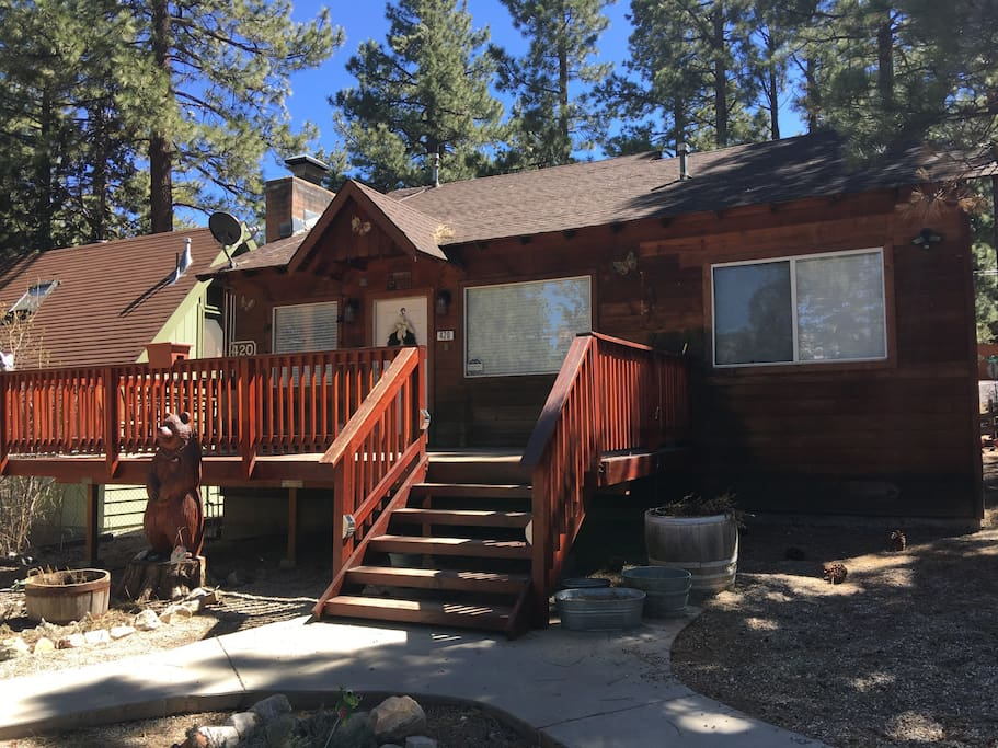 Grin bear it getaway you won 39 t regret it cabins for for Big bear cabins california