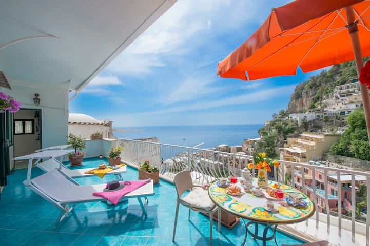Casa Romantica- Positano center