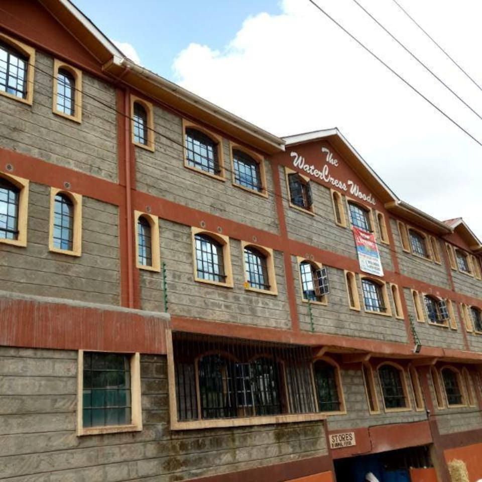 The apartment is very close to the road,cctv cameras and security lights available