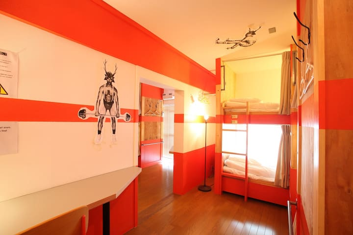 HOSTEL BUSHI 8-person room Osaka Loop Line(NEW)
