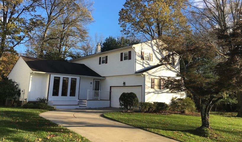 Stylish home near Princeton.