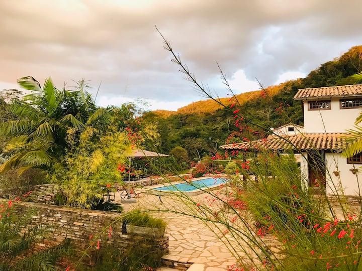 Chalé do Vale: um refúgio de charme em Pirenópolis