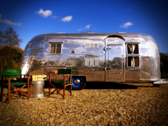 B&B Airstream glamping - Norfolk/Suffolk/Broads - Mundham - Дом на колесах