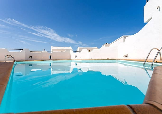 APARTMENT WITH POOL NEAR THE SEA GC20 - Gáldar