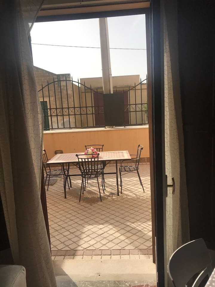 Vista su veranda