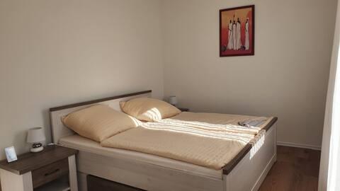 Schöne Aussicht, 4+ 1, 2 Schlafzimmer, große Küche