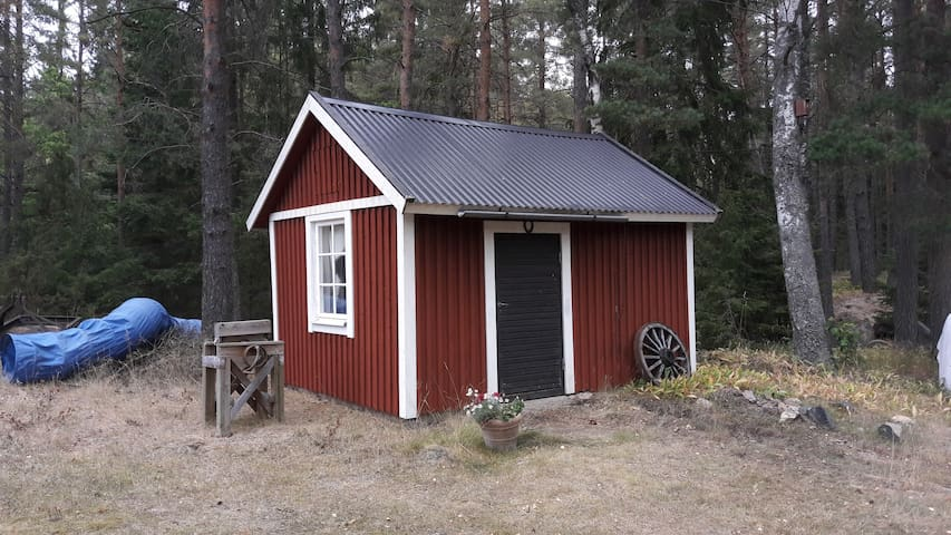 Lovely room in farm typically Swedish.