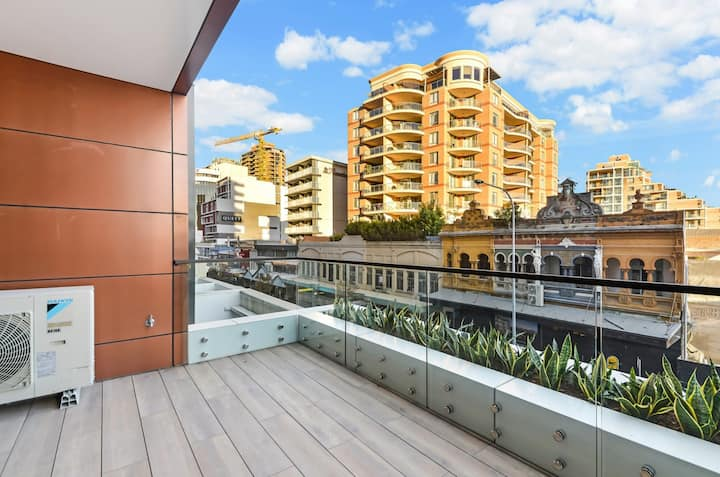 Modern, airy apartment in Bondi Junction
