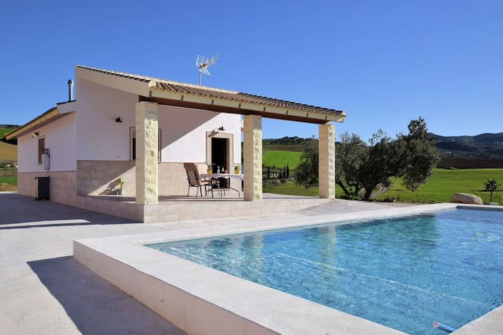 Attractive and nice holiday home with private swimming pool in a beautiful area