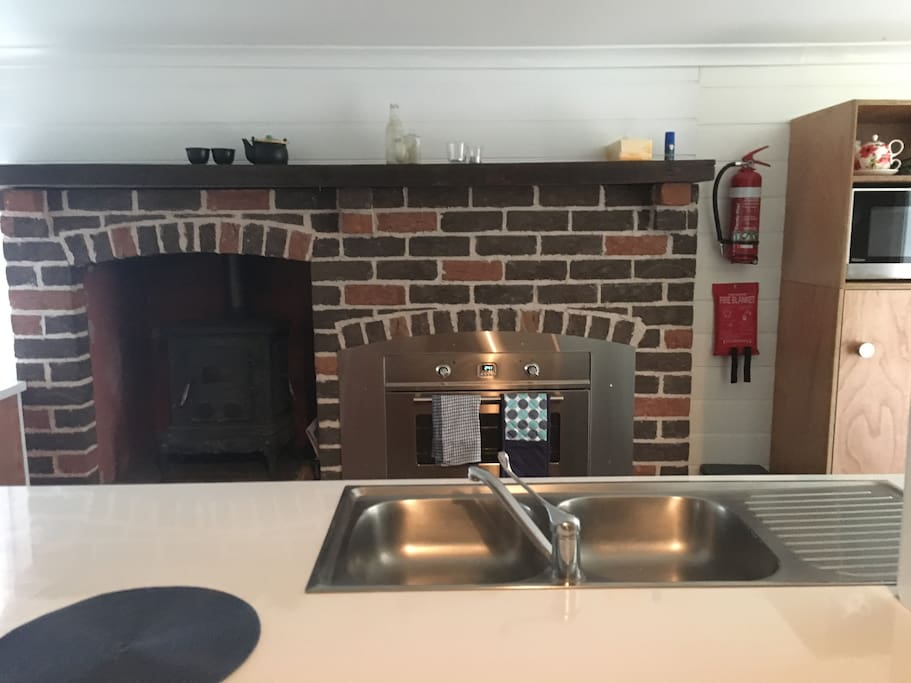 Ilve oven and wood burning stove