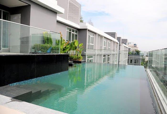 Bangkok-BTS FiberInternet Gym Pool - Bangkok - Apartamento