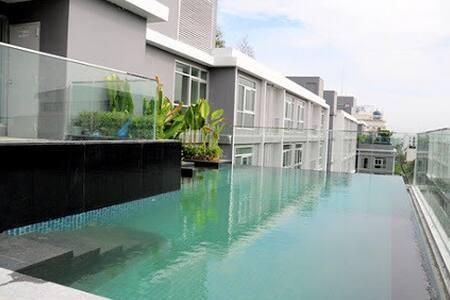 Bangkok-BTS FiberInternet Gym Pool - Bangkok - Wohnung