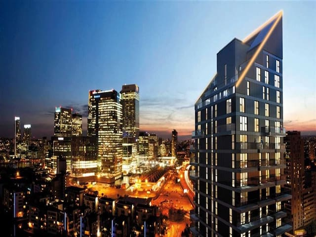 19th Floor En - Suite Balcony Room Free WiFi & TV - London - Apartment