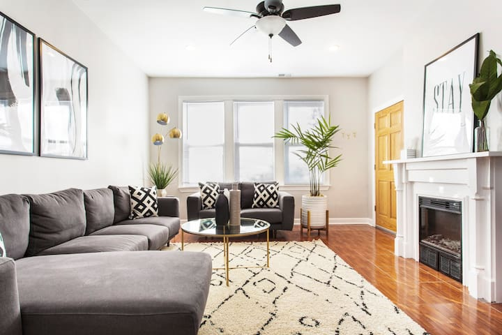 Explore Hip Logan Square from a Modern Apartment