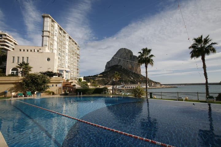 """""""Feet in water"""" in Frontline luxury residence, direct access to the beach, stunning views - Calp - Appartement"""