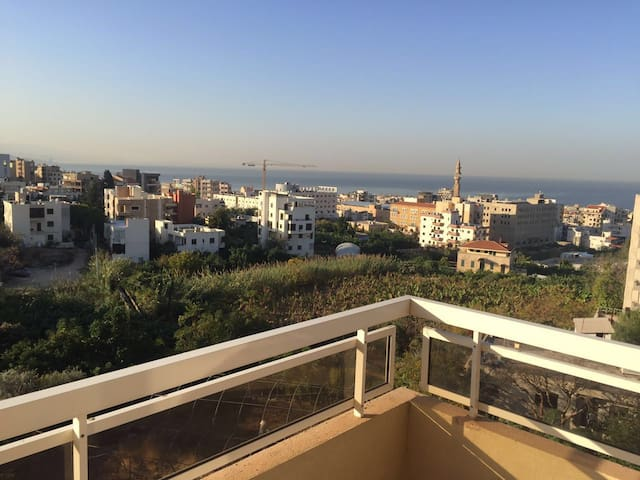 Appartement 200 m² Panoramic view - Byblos - Apartament