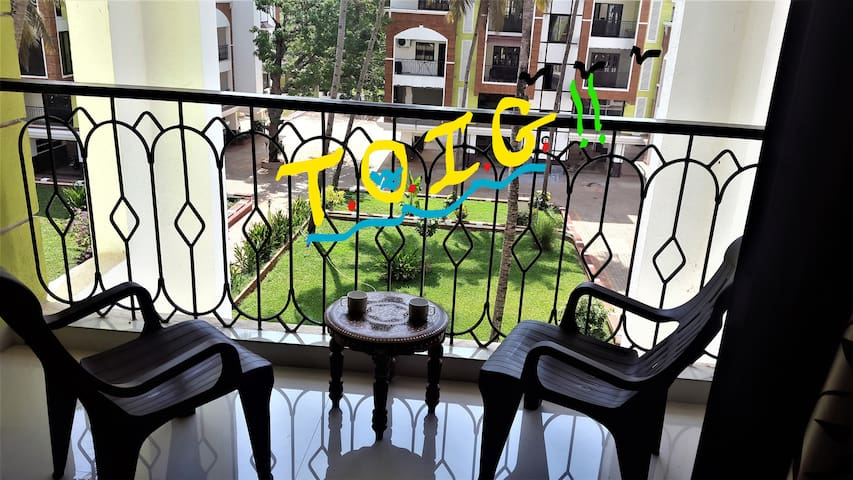 TOiG - Time Out in GOA - Apt. with workspace/ WiFi