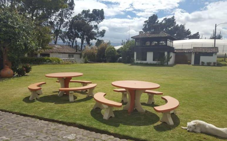 Room#1 - Hacienda San Mateo - Cotopaxi-Latacunga
