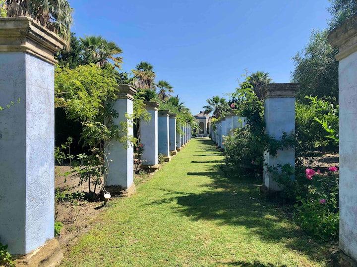 Casa in un giardino dell'Ottocento