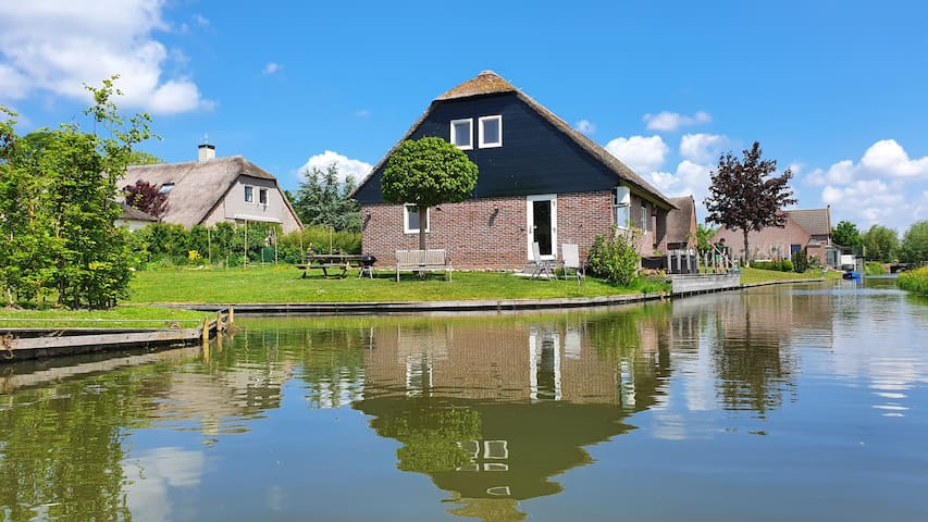 Water-Meadow cottage in central Holland (2-4 P)