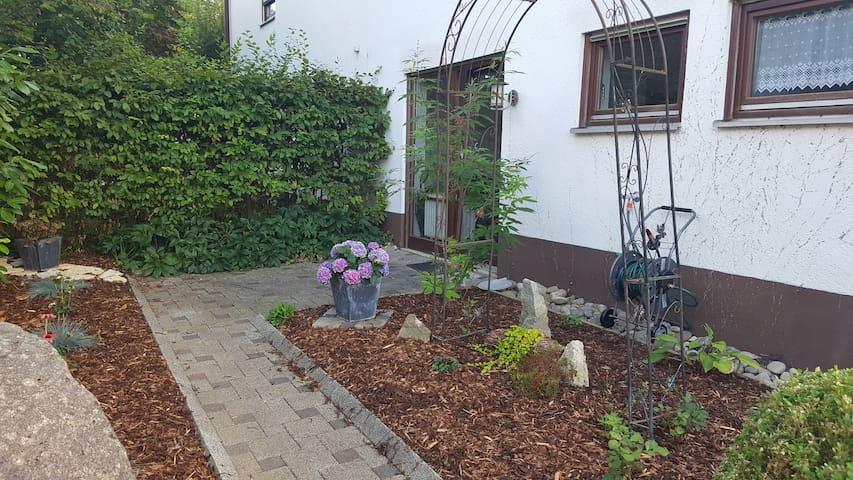 Idyllische 2 Zimmer Ferienwohnung am Dinkelberg - Schopfheim - (ไม่ทราบ)