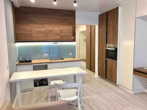 """Apartamento Lux Studio """"Nueva Inglaterra"""" en Kiev"""