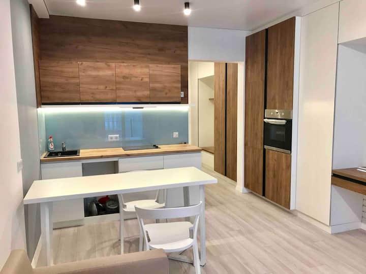 "Lux Studio Apartment ""New England"" in Kiev"