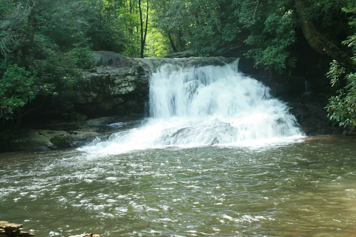 The Tomlin House-Visit The WaterFalls of North GA!