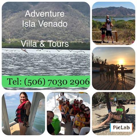 Villa y Tours Isla Venado Costa Rica