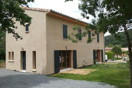 Villas mitoyennes  Ardèche méridionnale - Saint-Thomé - Huvila