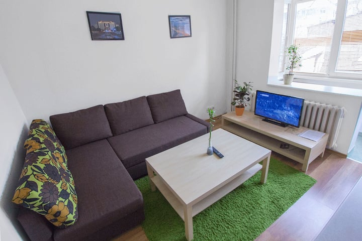 SofiaStyleCentralApartment**DoubleBed**FreeParking