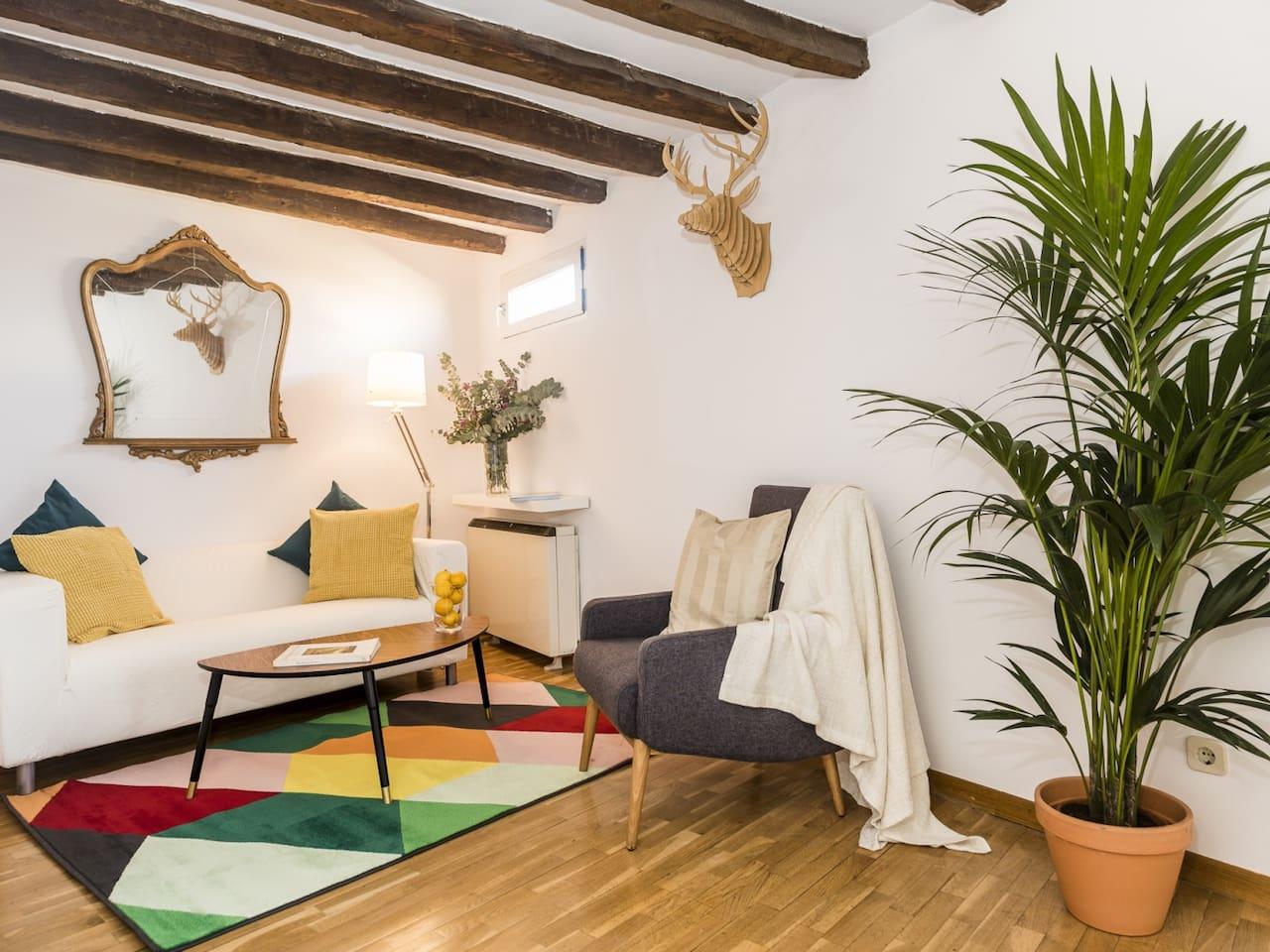 PENTHOUSE PLAZA MAYOR **Bohème Apartment**
