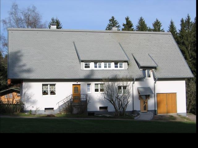 Ferienwohnung Schartenschmiede, (St. Georgen), Ferienwohnung Schartenschmiede, 95qm, 3 Schlafzimmer, maximal 4 Personen