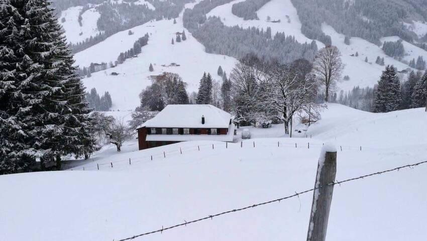 ... im tiefen Winter