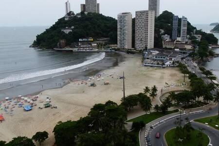 Apartamento São Vicente - 100 Metros da Praia