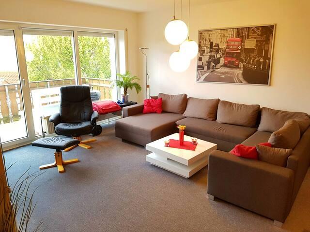 Gemütliche Wohnung am Rande Paderborns -Cosy place - Paderborn - Daire