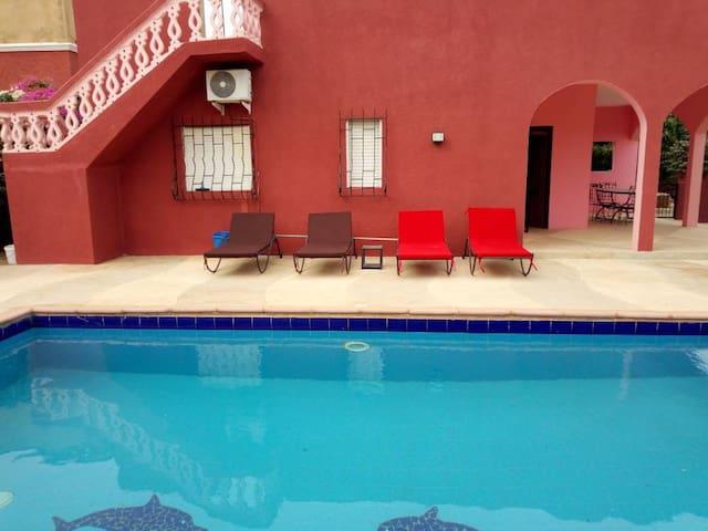 Loue villa avec piscine  Somone - Mbour Saly Thiès