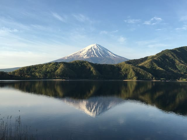 Mt Fuji view Lake side stay, Dinner n  Breakfast