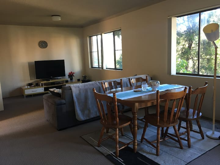 Private bedroom 0.5 km from the North Gong beach