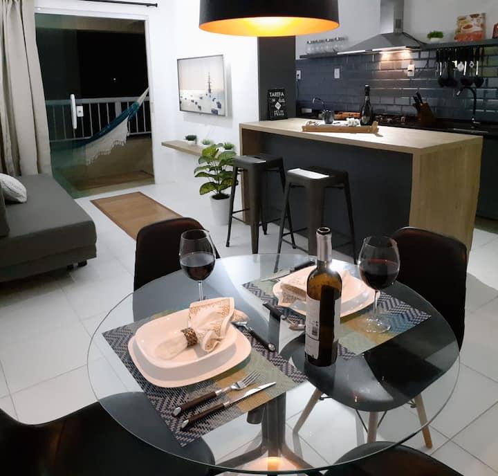 Apartamento Super Novo em Salvador (100m da Praia)