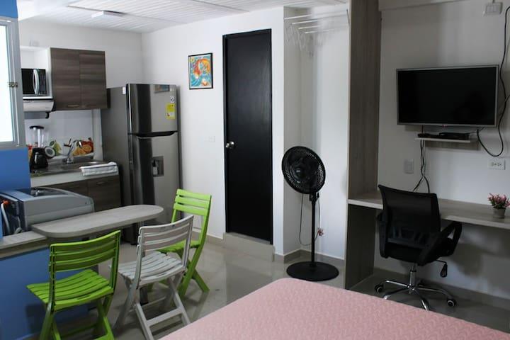 Moderno apartaestudio cerca a Medellín. En bello