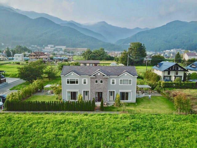 kawaguchiko cottage minami bed 6