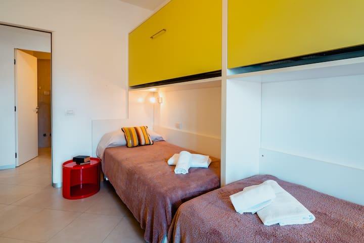 Camera 3: soluzione con due letti singoli