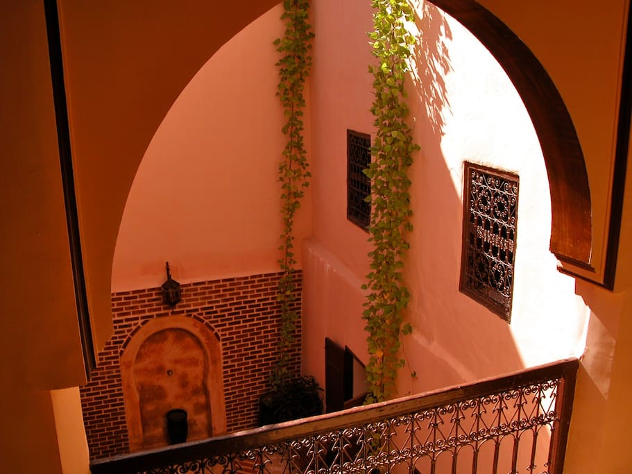 Dar marina chambre b b welcome bed breakfasts for for Airbnb marrakech