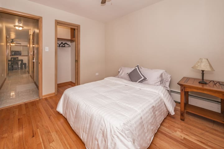 3rd Bedroom Has Great Space With Closet...