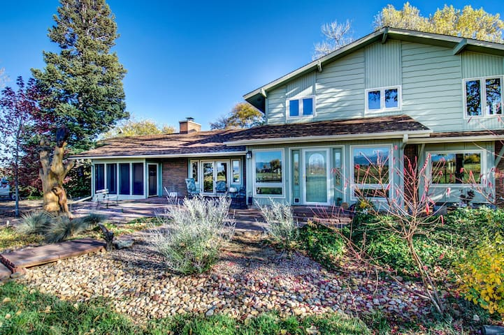 Peaceful Niwot Farm Property - Longmont - Rumah