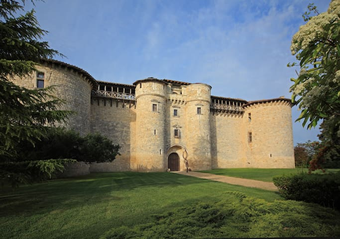 Château avec des lits à baldaquins  Historiques - Senouillac - Kastély